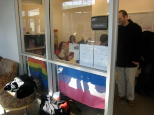 UC's newly opened LGBTQ Center.