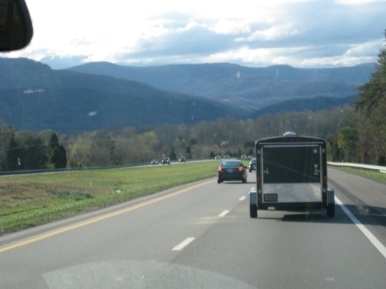 The Appalachian Mountains in North Carolina.