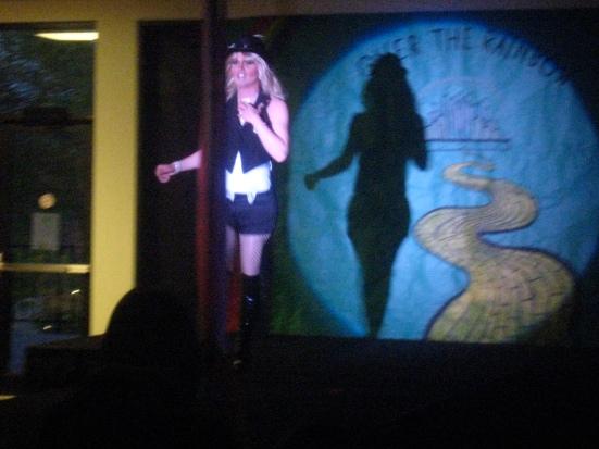 "Kamron Vaughn performs Britney Spears' ""Circus."""