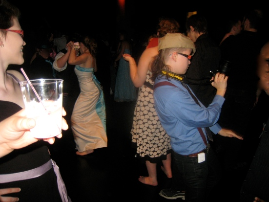 Attendees get down on the dance floor at GLSEN Prom.