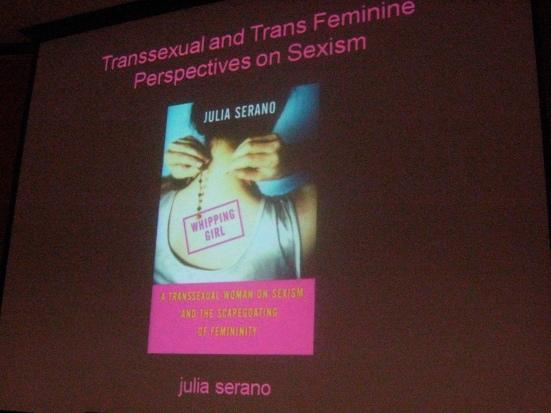 Julia Serano's book Whipping Girl.