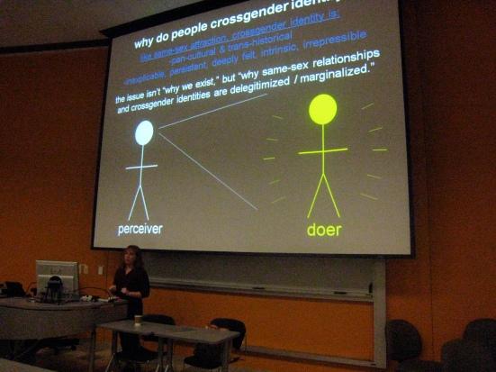 Serano explains why people cross-gender identify.