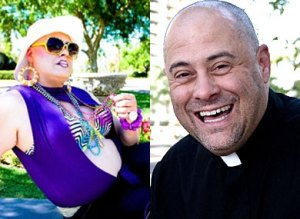 Big Mama Carpetta by night, Father Anthony by day. Photo from The Advocate.