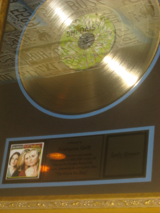 Cadillac Ranch is home to a gold Shedaisy record.