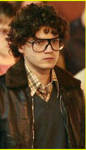 The Cleve Jones character in Milk, played by Emile Hirsch. Photo from Google Images.