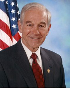 Ron Paul. Photo from Google Images.