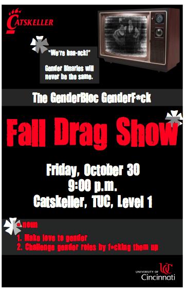 Drag Show Fall 2009