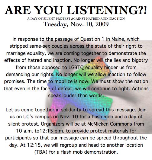 Maine response flier