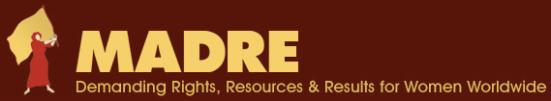 MADRE logo