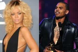 Rihanna and Chris Brown at the 2012 Grammys. Photo Source: Google Images.