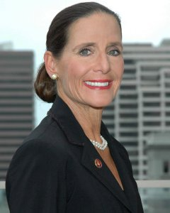 Photo: A head shot of U.S. Rep. Jean Schmidt, an older white woman with dark hair wearing a black suit jacket. Photo source: Google Images Jean_Schmidt_Official