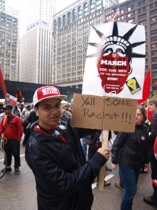 May Day Chicago 2012 Photo 2. Google Images.