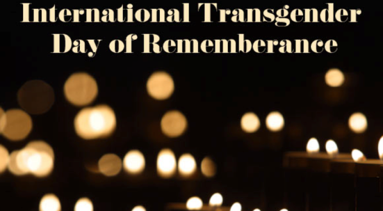 Transgender Day of Remembrance Vigil Google Images