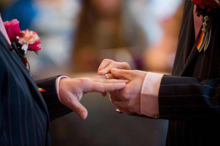 Photo: Indiana and Utah get gay marriage. Photo: Google Images, Associated Press